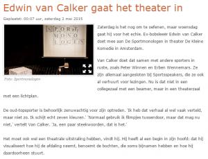 Edwin van Calker RTV Noord-Holland